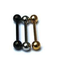 Piercings industriales de acero quirúrgico