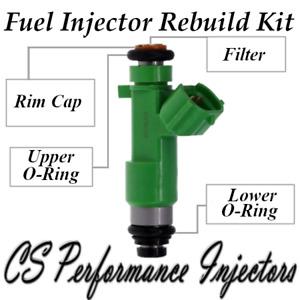 Fuel Injectors Rebuild Kit Fits 195500-0940 Set For 07-19 Nissan Infiniti 3.5 V6