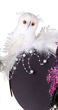 WHITE OWL Party HEADBAND Hat Festive Fun Fashion Accent NEW Halloween