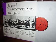 Bach Violin Con. Hansheinz Schneeberger, Jugend Stuttgart von Cube STEREO Privat