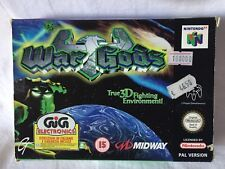 NINTENDO N64 WAR GODS MIDWAY SEALED,BRAND NEW IN BOX MAI OPEN