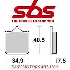 Coppia pastiglie SBS anteriore 762rs BMW 450 G SMR 2009-2010 (sinterizzata)