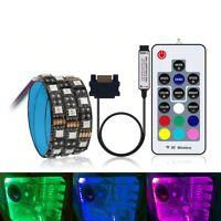 Tira de luz LED RGB SATA para caja de PC Caja de computadora de control remoto