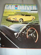 Car & Driver Aug 1972 Mazda RX3 vs Mazda 808, Renault 15 & 17