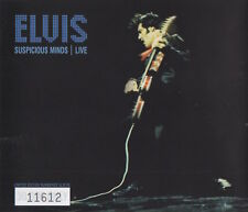 ELVIS PRESLEY - SUSPICIOUS MINDS LIVE - LIMITED EDITION CD SINGLE
