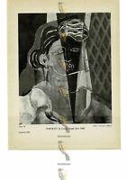 Portrait, Georges Braque, Book Illustration (Print), 1946