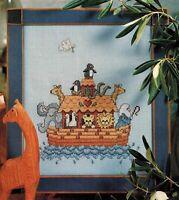 ✔️ Cross Stitch Chart NOAH'S ARK Pattern Design Sue Hillis