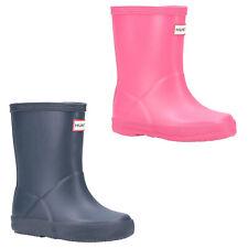 Hunter First Classic Wellington Boot Waterproof Adjustable Baby Boy Girl Wellies
