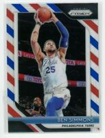 2018-19 Ben Simmons Panini Prizm Red White Blue #219