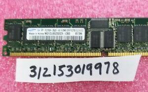 512MB PC DDR1 PC2700R  2700R DDR1-333MHZ 333 184PIN ECC-REG RDIMM SINGLE RANK