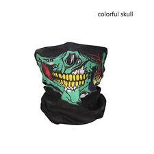Skull Bandana Mask Tube Scarf Skeleton Motorcycle Headband Ski Face Neck Jaw USA