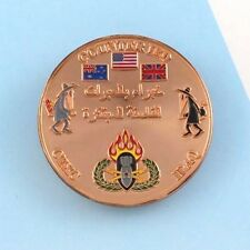 Challenge Coin mad magazine spy vs spy IRAQ Counter-IED explosive projectile