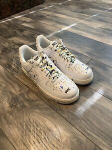Nike Air Force 1 AF1 Paint Splatter Off White Virgil Clot Kith Supreme 9