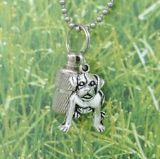 Urn Necklace for a Pit Bull | Dog Loss Sympathy Gift | Pit Ashes Keepsake