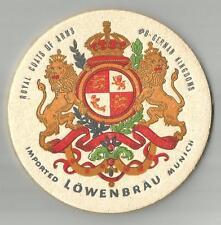 8 Lowenbrau Royal Coats Of Arms German Kingdoms #6   Beer Coasters