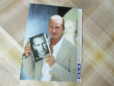 David BECKHAM 2003 England FOOTBALL Legend Launching Autobiography Press Photo