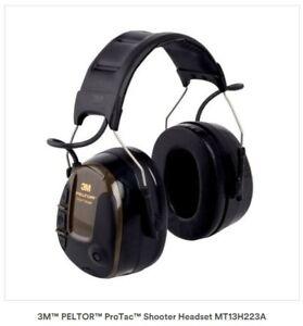 3M™ PELTOR™ ProTac™ Shooter Headband Headset MT13H223A, 1 ea/Carton