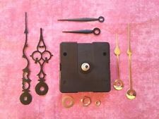SHORT Shaft Battery Quartz Clock Movement Kit!  - With 3 Pairs of Hands! (982)
