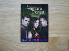 2012 THE VAMPIRE DIARIES P1 SEASON 2 PROMO CARD