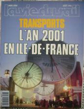 LA VIE DU RAIL N° HS 08/91. SPECIAL TRANSPORT L'AN 2001 EN ILE DE FRANCE   .638.