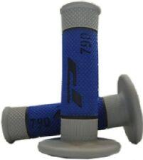 PRO GRIP 790 BLUE/GREY MX GRIPS YAMAHA 85 125 250 450 YZ YZF WR WRF DT XTZ