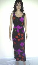 MONSOON Silk Maxi Dress. Stunning Design. Evening, Cocktail Party.  SIZE 14