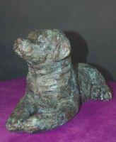Dog Heavy Bronze Doorstop Rottweiler/ Lab Door Stop / Accent