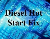 Hot Start, Starting Fix - BMW & Vauxhall Opel Omega - M51 Diesel Engine