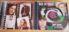 CD: ACE OF BASE - HAPPY NATION - THE BRIDGE - FLOWERS # 3 CDs