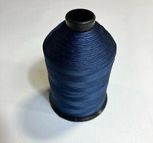 16oz Navy Blue T90 4200 Yards Bonded Nylon Sewing Thread Fabric #92 N225