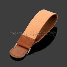 Mens Barber Shaving Genuine Leather Strop Straight Razor Sharpener Strap Belt