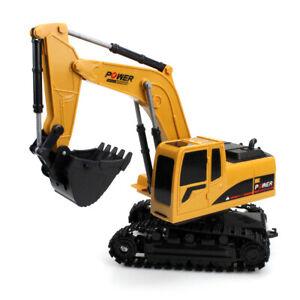 Remote Control Excavator RC Tractor Bulldozer Crawler Truck Toy Digger Car HOT