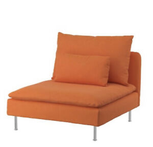 Brand New Ikea Cover for Soderhamn 1-Seat Section in Samsta Orange 804.526.77