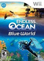 Endless Ocean: Blue World - Nintendo  Wii Game