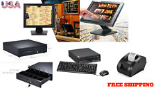"New15"" Point of sale Pos system register Touch screen restaurant retail Bar Deli"