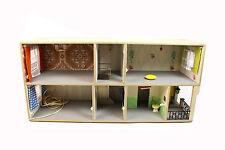DDR Puppenhaus BAUHAUS Stil Lichtfunktion 2 Etagen 4 Räume Flur alte Puppenstube