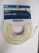 PHILIPS SWL6180/17 Telephone 100' ft. Line Cord Almond - 6 Conductor