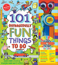 101 OUTRAGEOUSLY FUN THINGS TO DO - EDUCATIONAL KIDS KLUTZ BOOK & ACTIVITY KIT