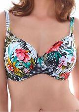 Fantasie Floral Plus Size Bikini Tops for Women