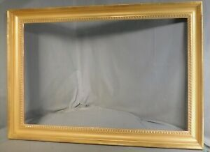 Vintage Abe Munn Museum Quality Gold Leaf Neoclassical Picture Frame 19x30 Gilt