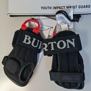 Burton Kids Impact Wrist Guard - True Black Small S/M