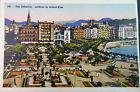 ANTIGUA POSTAL SAN SEBASTIAN JARDINES DE ALDERDI EDER GUIPUZCOA POSTCARD CC03786