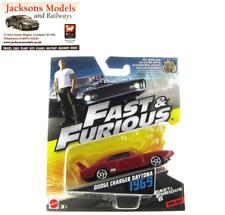 Hot Wheels FCN86 Doms 1969 Dodge Charger Daytona Red Fast & Furious 1:55 Mattel