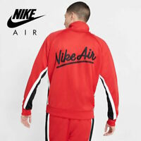 Nike Sportswear Air Full-Zip Men's Retro Track Jacket Red Black size 2XL XXL