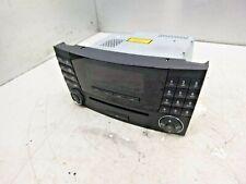 MERCEDES-BENZ W211 E-CLASS RADIO CD PLAYER MAIN HEAD UNIT A2118702889