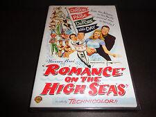 ROMANCE ON THE HIGH SEAS-DORIS DAY's movie debut-She's on a cruise w/false name