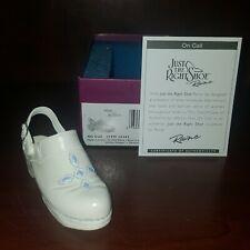 Just The Right Shoe On Call # 25463 Nib, Coa