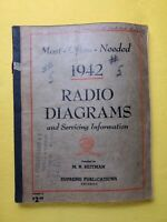 Vintage Beitman Radio and TV Diagrams Manual, Most Often Needed, 1942 Volume 5