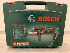 Bosch Schlagbohrmaschine Bohrmaschine PSB 800-2 RA mit Absaugvorrichtung