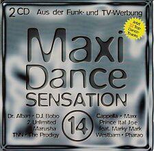 MAXI DANCE SENSATION 14 / 2 CD-SET (BMG ARIOLA MEDIA 1994)